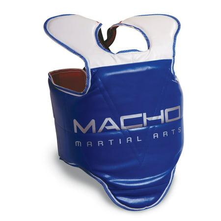 Macho SOLID Hogu Karate TaeKwonDo Sparring Chest (Best Macho Chest Protectors)