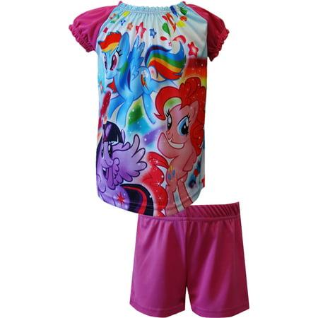 My Little Pony Rainbow Dash Twi Sparkle Pinkie Shortie PJ](My Little Pony Pajamas Adults)