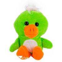 """Bright Spring Easter Duck Basket Gift Filler Soft 9""""T Plush Animal"""