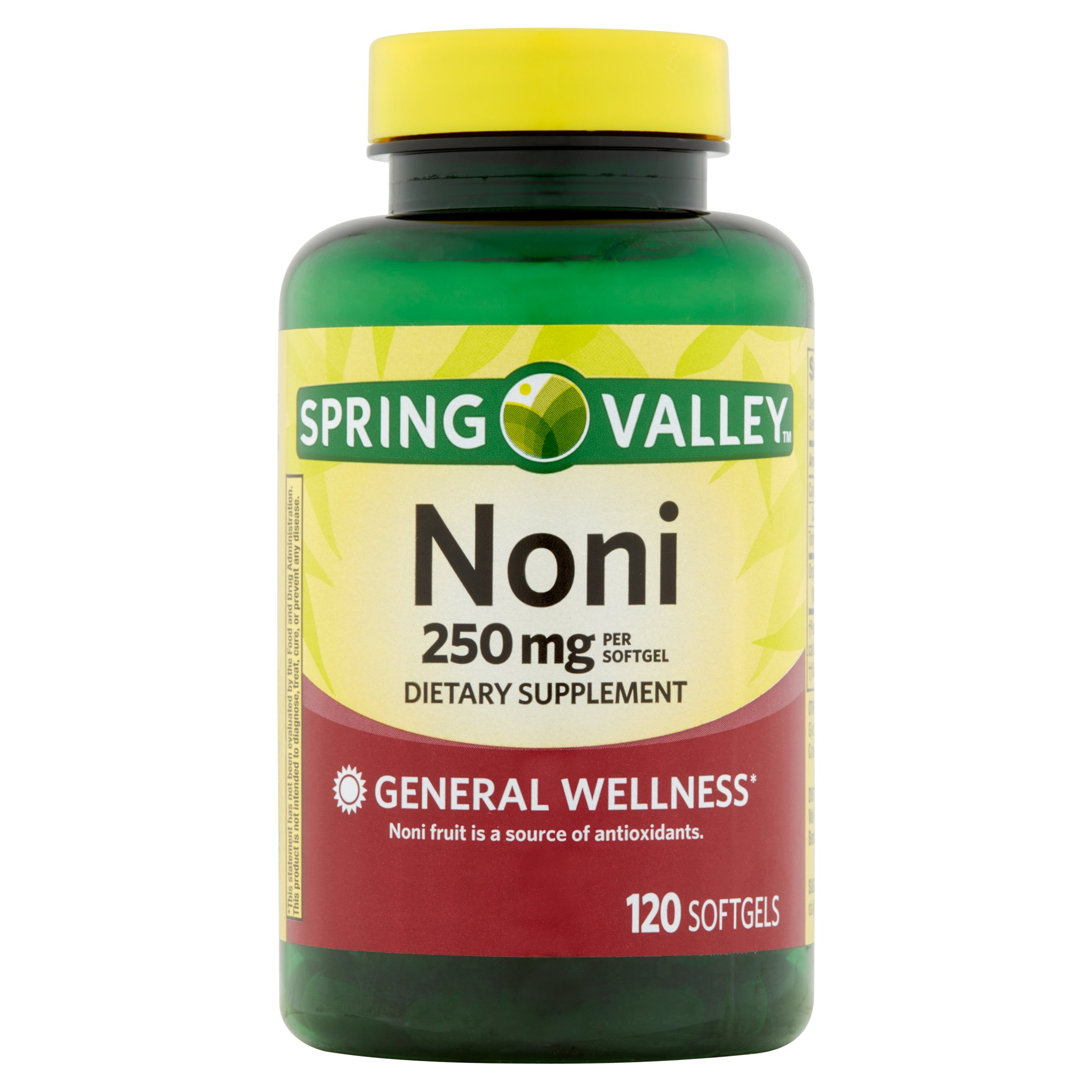 Spring Valley Noni Softgels, 250 mg, 120 Ct