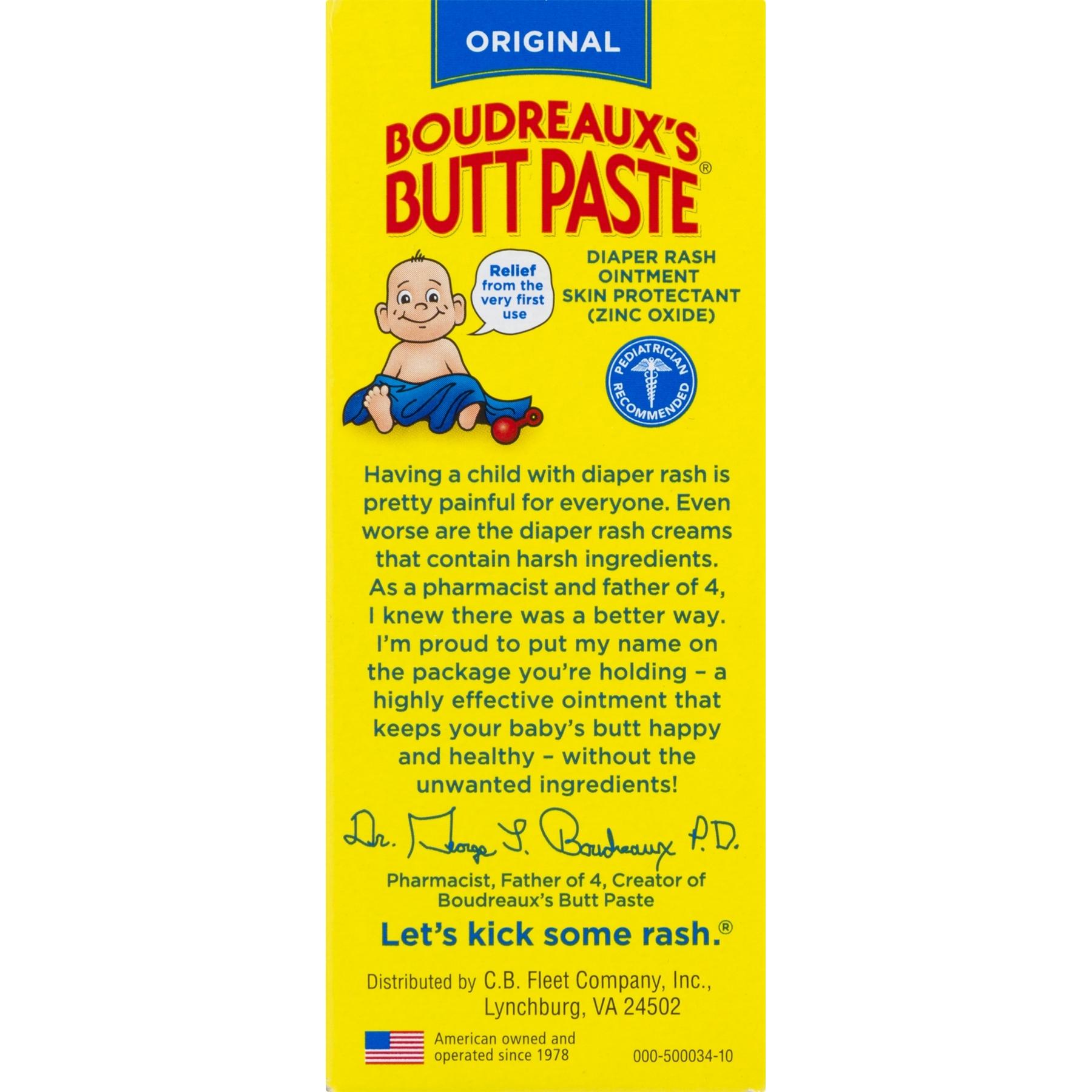 Boudreaux S Butt Paste Ingredients
