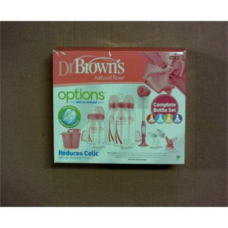 Dr. Browns Options+ Baby Bottle Gift Set - Pink