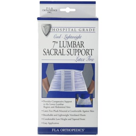 Lumbar Sacral Support Pillow - FLA ORTHOPEDICS  7