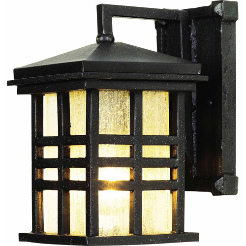 "Belair Lighting Japanese Garden 10"" Lantern, Weathered Bronze"