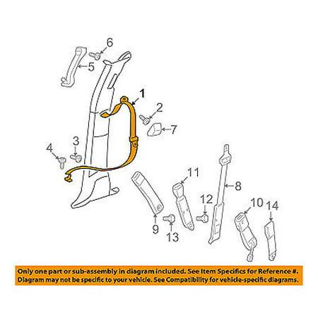 Dodge CHRYSLER OEM Ram 3500 Front Seat Belt-Outer Belt Assembly Right 1JH681J3AA