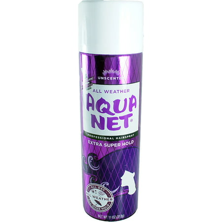 Aqua Net Extra Super Hold Professional Hair Spray Unscented 11 oz (Pack of