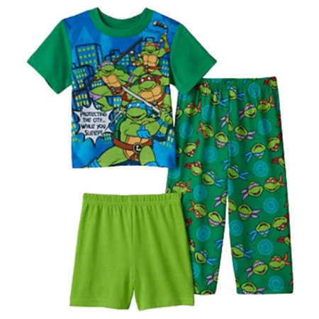 Teenage Mutant Ninja Turtles Toddler Boys Protecting The City Pajama Set 2T - Pajama City Promo Code