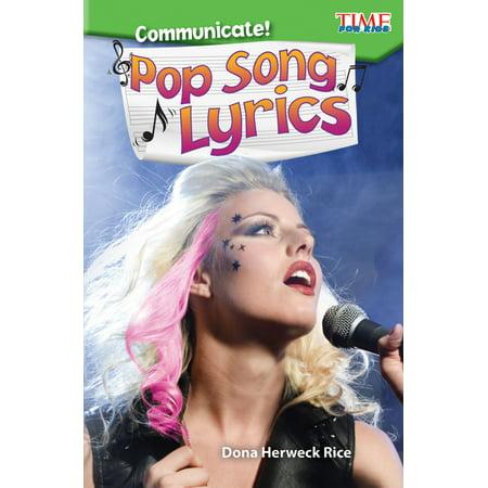 Communicate! Pop Song Lyrics - eBook - Kids Halloween Songs With Lyrics