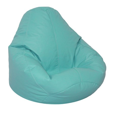 Superb American Furniture Alliance Adult Lifestyle Pure Bead Bean Bag Vinyl Color Aqua Short Links Chair Design For Home Short Linksinfo