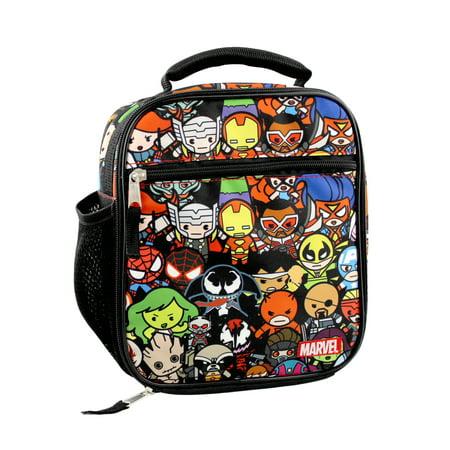 Marvel Kawaii Avengers Girls Boys Soft Insulated School Lunch Box MKCOD12YT