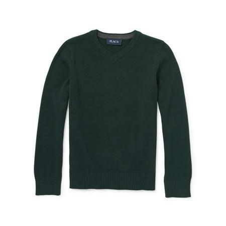 Pull Over Vneck Sweater (Little Boy & Big Boy)
