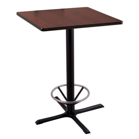 Holland 42 211 Bar Height Pub Table with Square Top 27' Square Bar Table