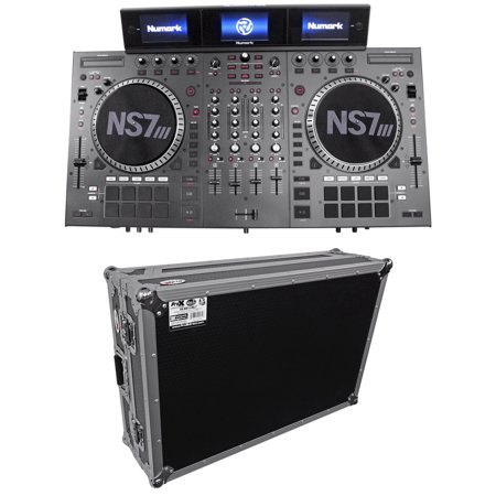 Numark NS7III Four Deck Serato DJ Controller w/ Serato DJ Software + Hard