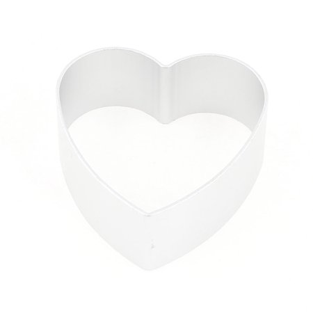 Unique Bargains Home DIY Cookie Biscuit Baking Heart Shape Metal Cutter Mold (Halloween Biscuits)