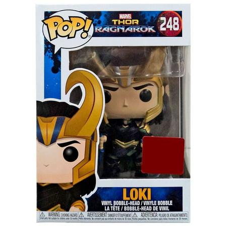 Funko Pop Vinyl Marvel Thor Ragnarok Movie Collector Corps Loki With Helmet Figure 248, By ThorRagnarok
