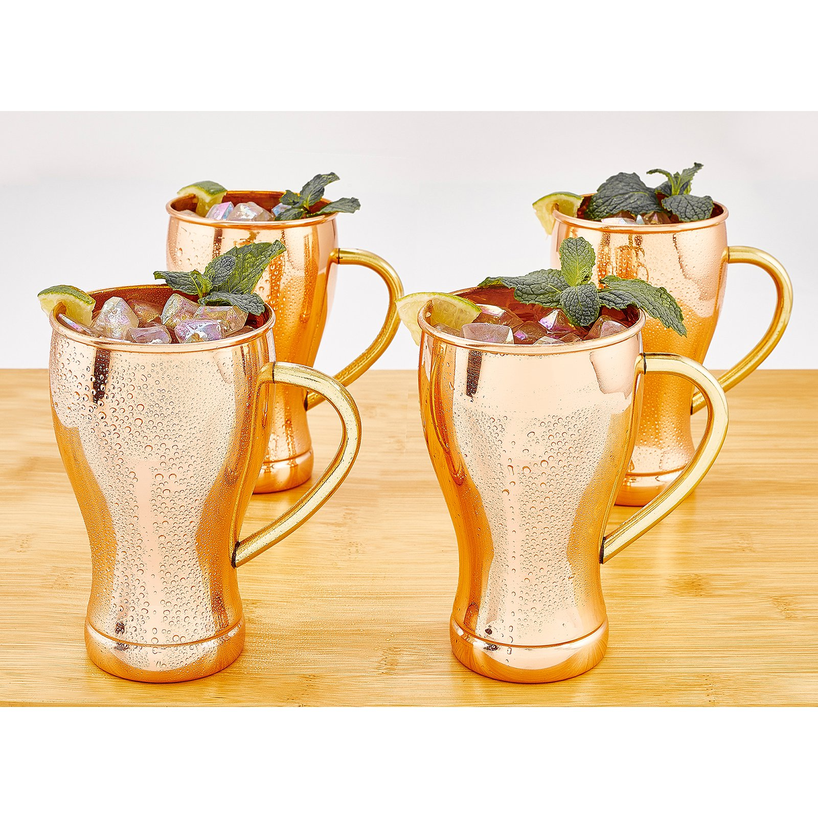 Old Dutch 14 oz. Moscow Mule Mugs - Set of 4
