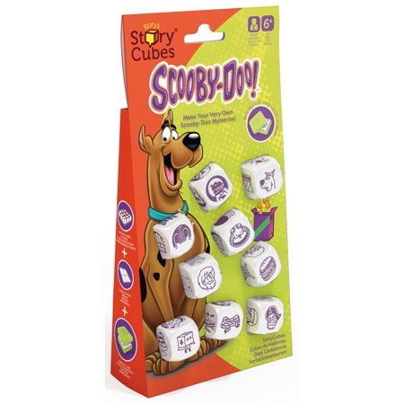Rorys Story Cubes: Scooby Doo Dice (Dice Cube Shape)