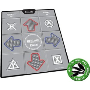 DDR Tough Groove Texture Non-Slip Dance Pad for PS2, Xbox, Wii, PC (Ddr Pad)