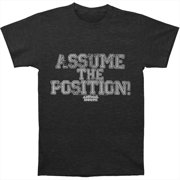 Animal House Men's  Position T-shirt Charcoal