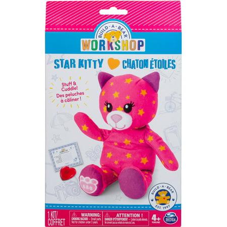 Build A Bear Workshop Furry Friends Star Kitty