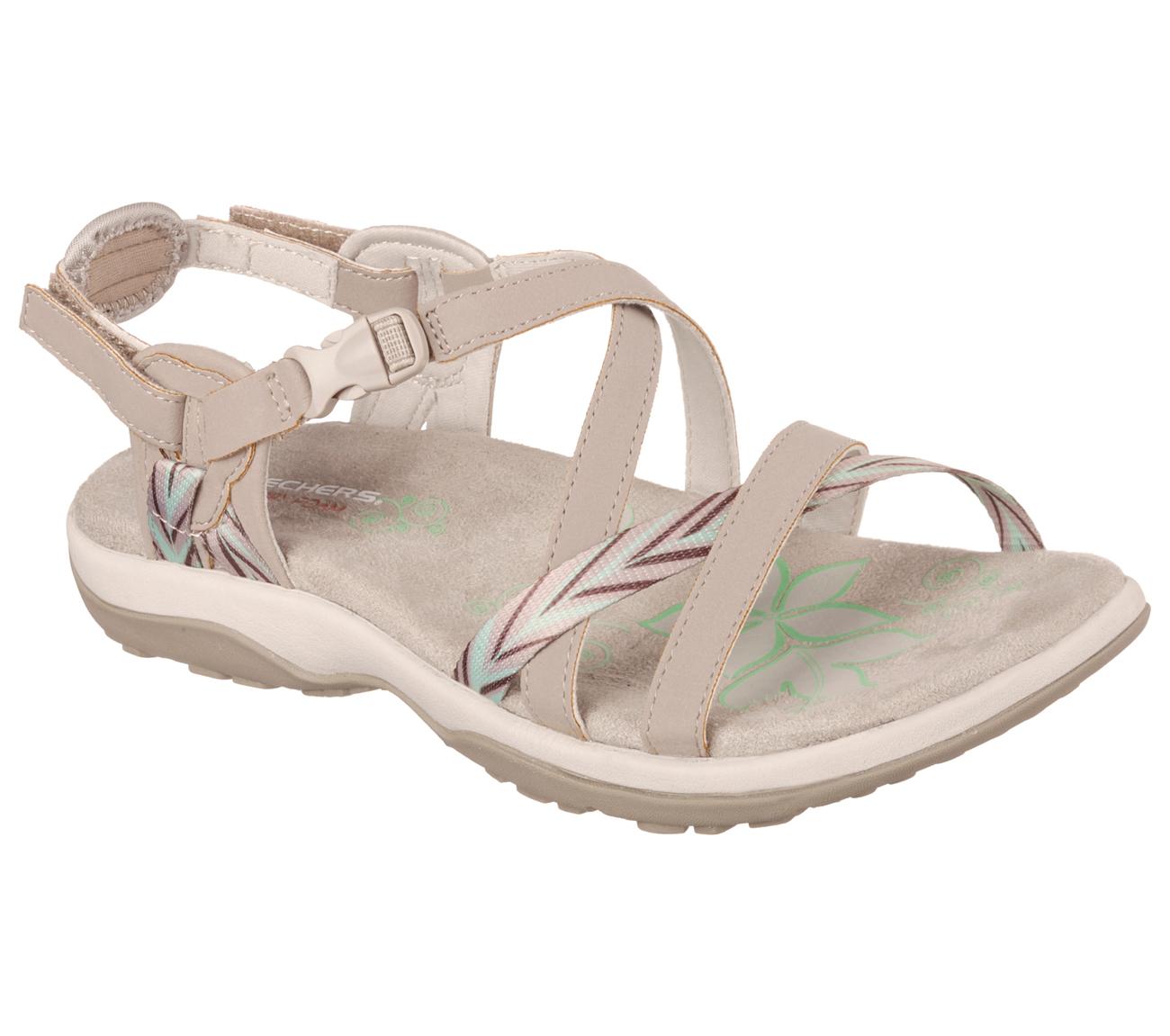 6774c75ca34e Skechers - Skechers 40780 TPE Women s REGGAE SLIM-KEEP CLOSE Sandal -  Walmart.com