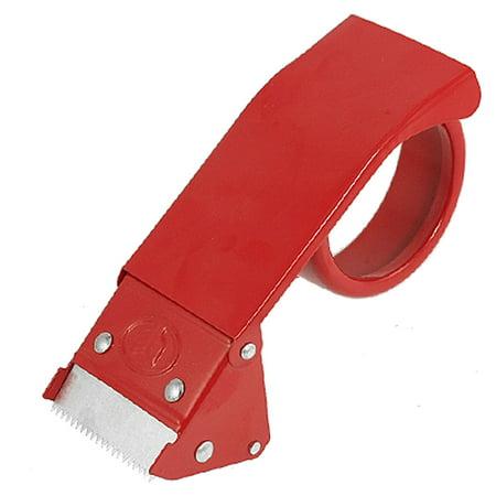 """2"""" Metal Packaging Tape Cutter Roll Cutting Dispenser Red"""