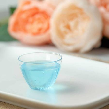 Efavormart 50 Pack 2 oz Crystal Clear Disposable Plastic Dessert Bowls For Wedding Banquet Event