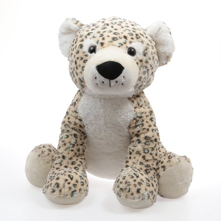 "22"" Sitting Giant Leopard Stuffed Animal Plush Toy"