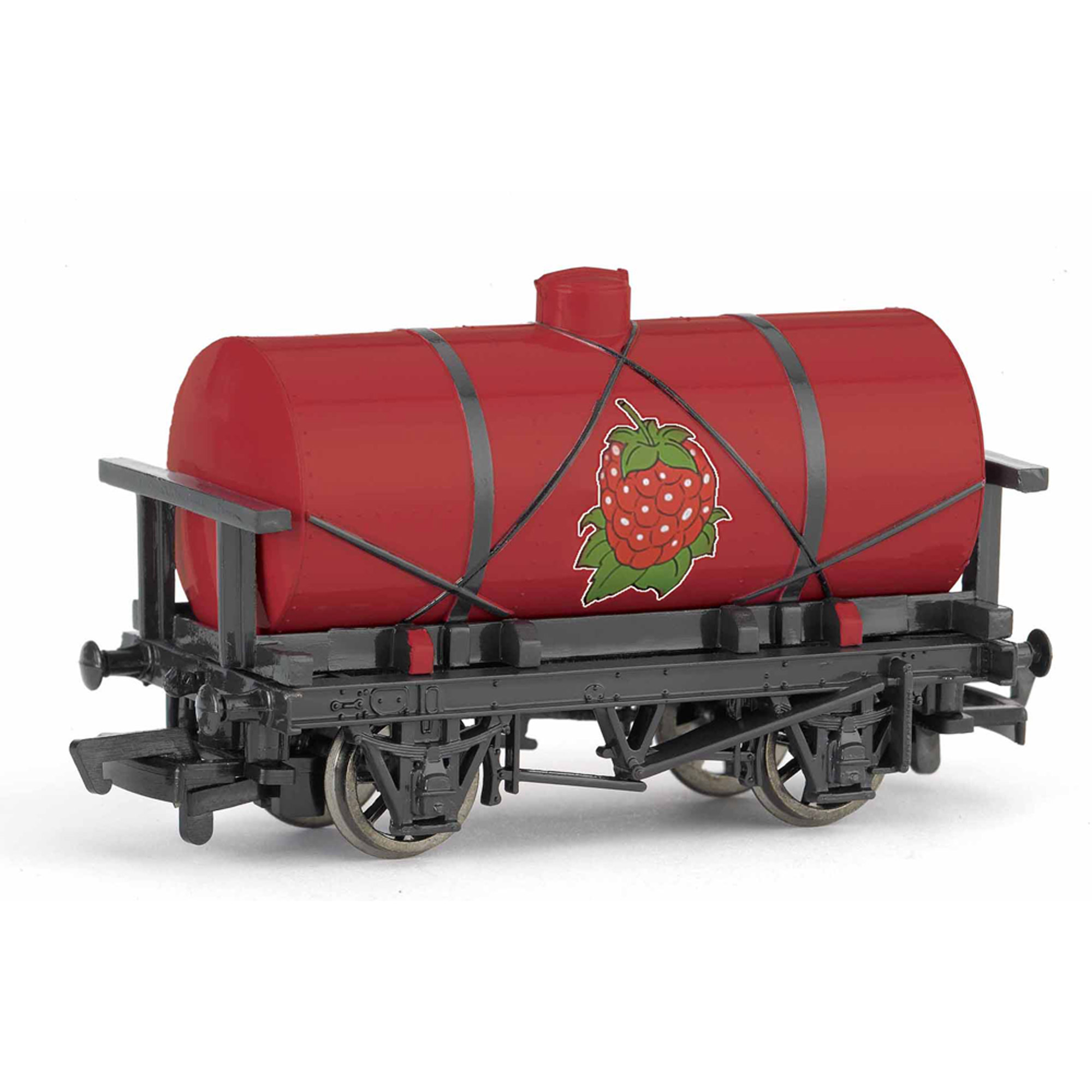 Bachmann Trains Thomas and Friends Raspberry Syrup Tanker, HO Scale Train