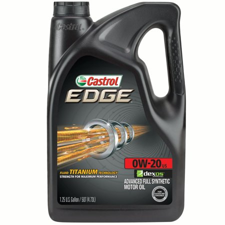 Castrol Edge 0w 20 Full Synthetic Motor Oil 5 Qt
