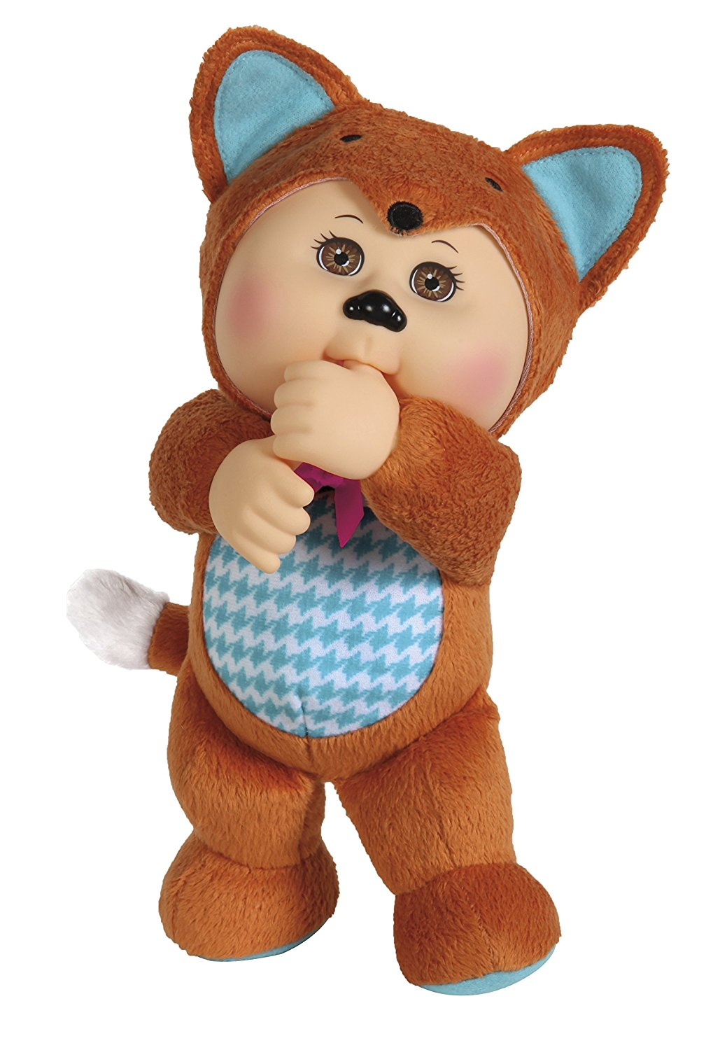"""9"""" Ruby Fox Cutie DollEach 9'' Cutie is numbered for collectability By Cabbage Patch Kids by"""
