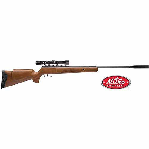 Crosman Nitro Venom NP .177 Caliber Break Barrel Air Rifle with Scope, 1200fps by Crosman Corporation