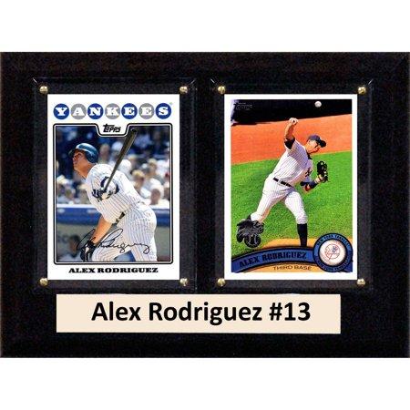 Alex Rodriguez Mlb Baseball (C&I Collectables MLB 6x8 Alex Rodriguez New York Yankees 2-Card)