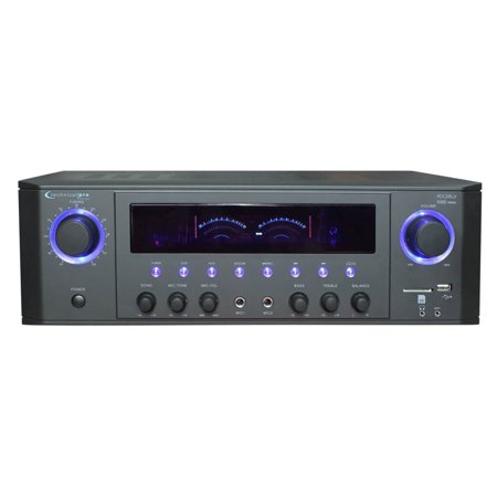 Technical Pro 1000 watts peak power Professional Receiver with USB & SD Card (Best Audio Receiver Under 1000)