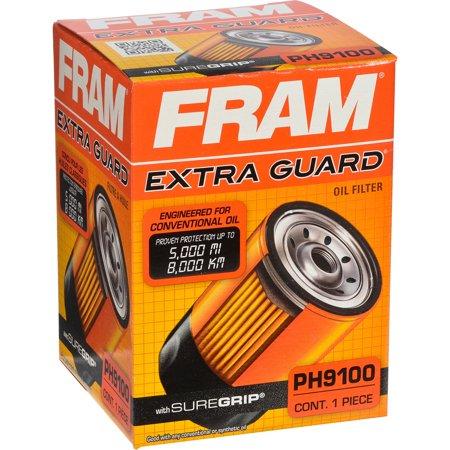 FRAM Extra Guard Oil Filter, PH9100 (Extra Filter Holder)