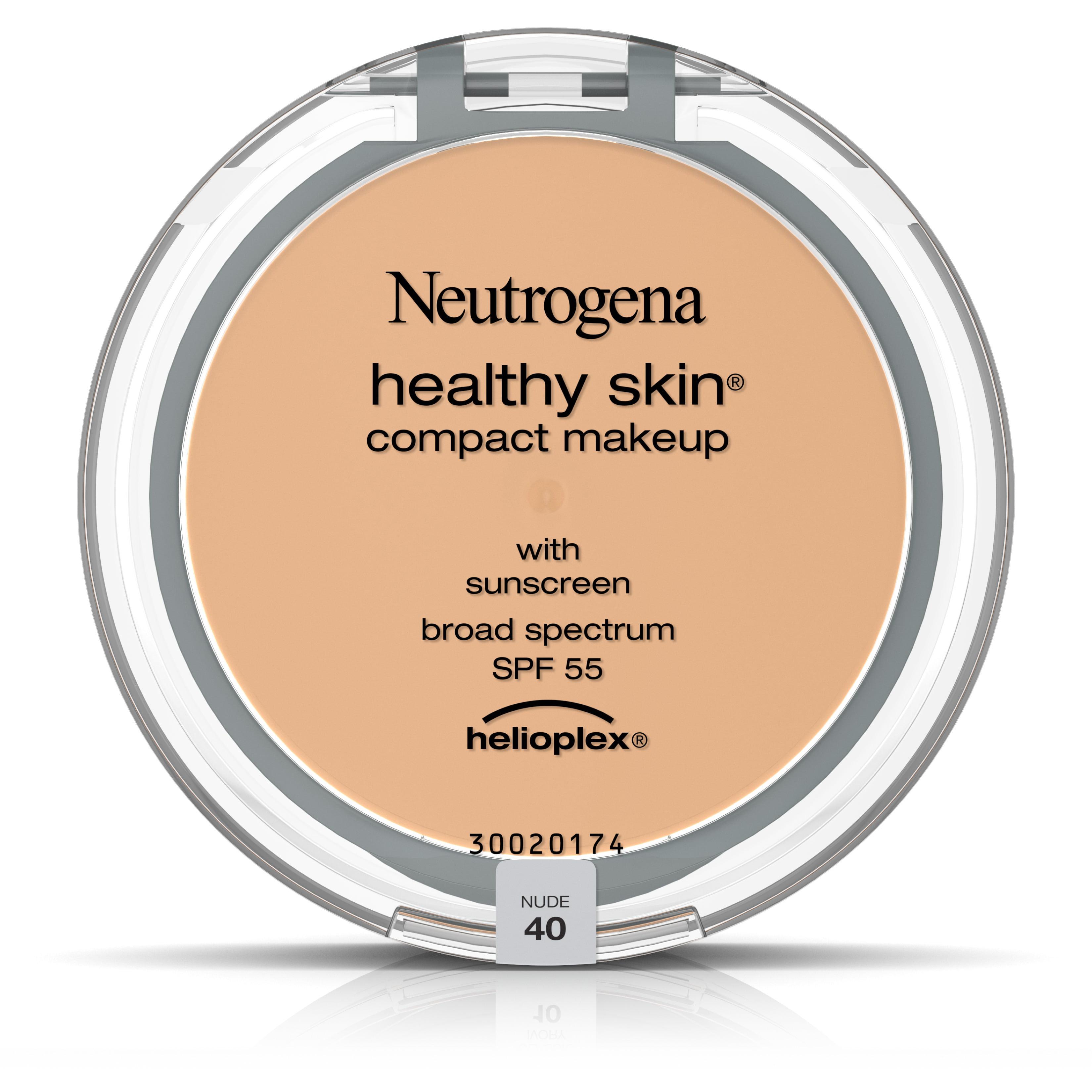 Neutrogena Healthy Skin Compact Makeup Broad Spectrum SPF 55, Nude 40, .35 Oz - Walmart.com