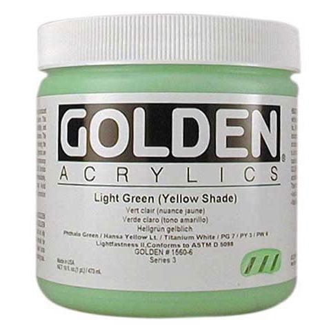 Golden - Heavy Body Acrylic - Pint Jar - Hansa Yellow Light