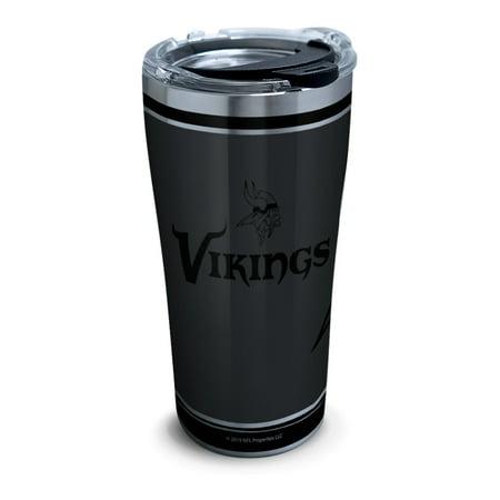 Minnesota Vikings Party Supplies (NFL Minnesota Vikings NFL 100th Season 20 oz Stainless Steel Tumbler with)