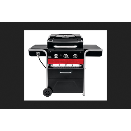 Char Broil Gas2coal 3 Burners Multi Fuel Black Grill 40000 Btu