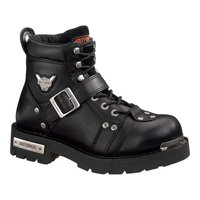 Men's Harley-Davidson Brake Buckle Ankle Boot Black 8 M