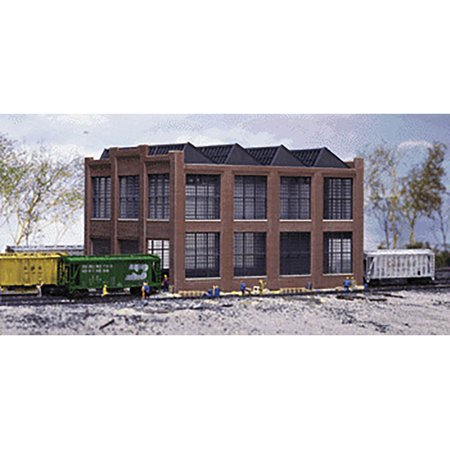 Walthers Cornerstone N Scale Building/Structure Kit Train Car Repair Shop