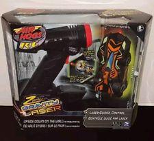 Air Hogs Black & Orange Race Car Laser Micro Zero Gravity by