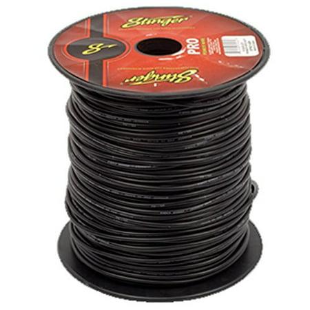 Stinger SPW312BK PRO 12 Gauge Power Wire 500-Feet (Black)