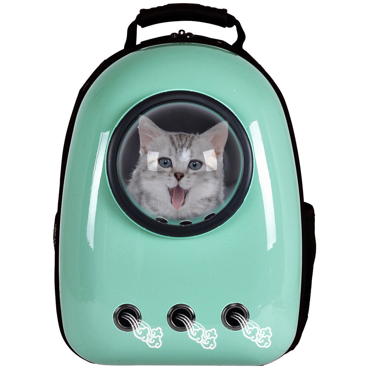 Costway Astronaut Pet Cat Dog Puppy Carrier Travel Bag Space Capsule Backpack Breathable