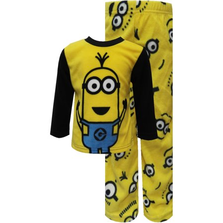 Despicable Me 2 Minion Warm And Cozy Fleece Pajamas