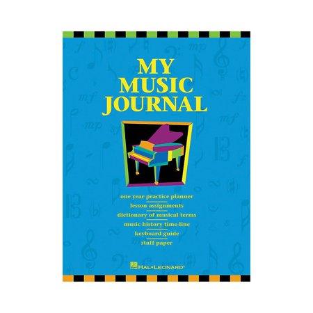 (Hal Leonard My Music Journal Student Assignment Book HLSPL)