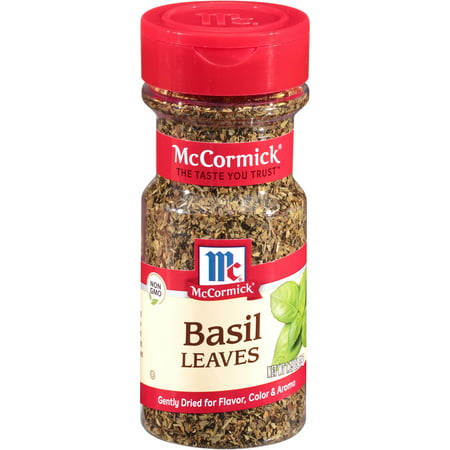 (2 Pack) McCormick Basil Leaves, 1.25 oz