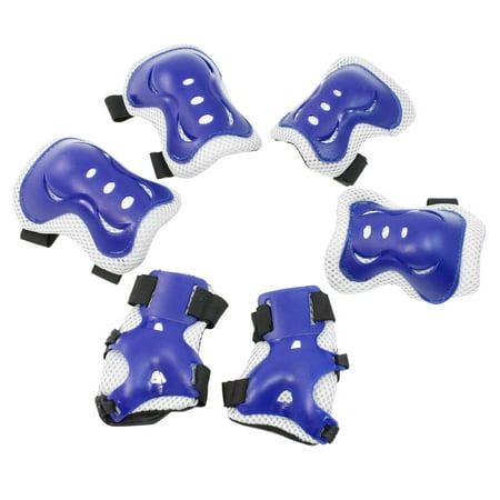 Unique Bargains Adjustable  Sports Protective Gear Wrist Support Guard Elbow Knee Pads Set