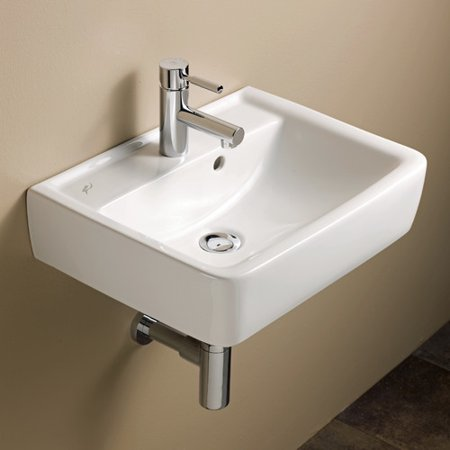 Bissonnet Elements Renova 20 Wall Mounted Bathroom Sink With Overflow