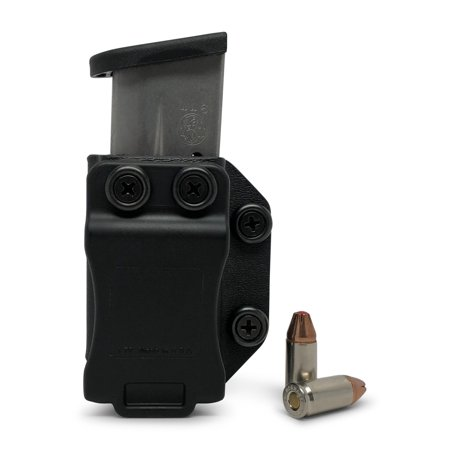 Concealment Express: Single IWB/OWB Magazine Holster / Mag Carrier - Custom Molded Fit - US Made - Lifetime Warranty - Concealed Carry Holster - Fully (Best Cross Draw Concealment Holster)